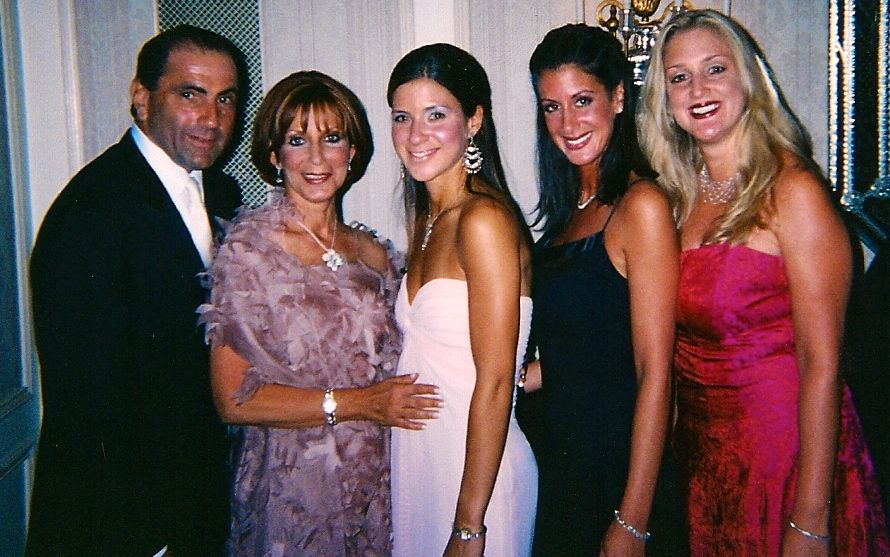 The Israel Family.  David, Renee, Emily, Jamie, and Ivy.